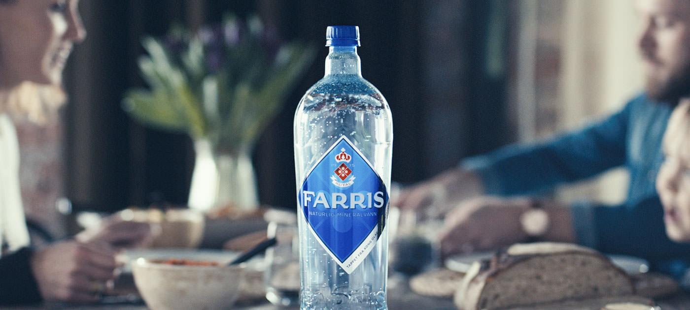 Farris - naturlig mineralvann
